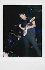 Atlas Genius - Music Hall of Williamsburg (melissa.castor) Tags: musician music film rock electric polaroid guitar snapshot inanimate objects pop atlas genius trojans molecules instantfilm cheki atlasgenius melissacastor melissacastorphotography