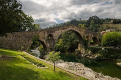 Una vista clásica (noldor12) Tags: bridge stone spain asturias piedra puenteromano parres cangasdeonis riosella alfonsoxi cruzdelavictoria reinodeasturias