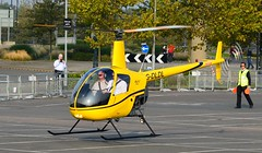G-DLDL Robinson R22 (7) @ Excel London 03-10-15 (AJBC_1) Tags: uk england london unitedkingdom helicopter docklands excel eastlondon silvertown nikond3200 newham royaldocks robinsonr22beta excelexhibitioncentre londonboroughofnewham londonexcelcentre gdldl dlrblog londonsroyaldocks ajc helitech2015 helitech15