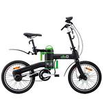 折りたたみ電動アシスト自転車の写真