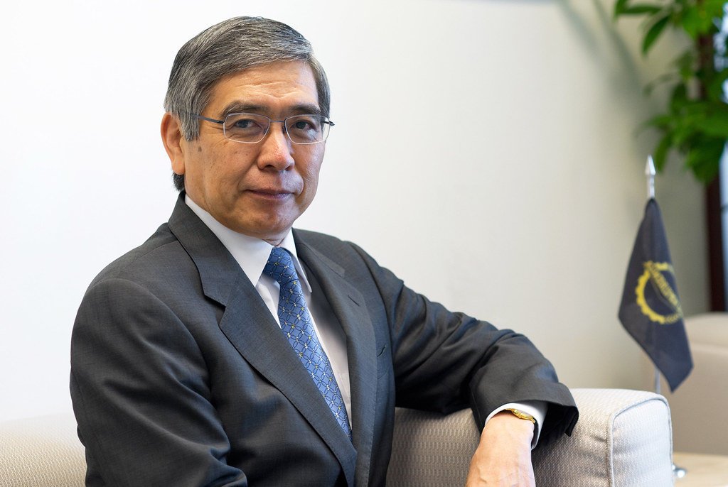 ADB Archives: Haruhiko Kuroda by Asian Development Bank, on Flickr