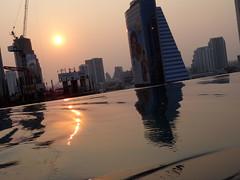Eastin Grand Sunset (Artur Wala) Tags: pool thailand bangkok infinity bkk