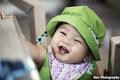 Chụp ảnh em bé - coca