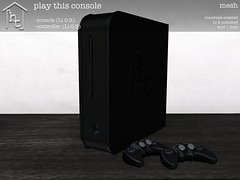[ht:home] play this console (Corvus Szpiegel) Tags: life original light game texture geometric home lamp standing bench circle bag square this living tv dvd chair october ray play control flat mesh display map blu cd room seat satellite centre center screen bean storage system monitor shelf sl couch sofa geeks nerds gaming disk secondlife floppy surround cube drawer hate speaker second data rug remote material normal ottoman specular ht disc controller console pouf circular subwoofer flatscreen triangular 2015 gacha datasette trinagle hatethis