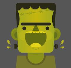 Frankenstein (Ivy Nunes) Tags: halloween illustration frank dessin frankenstein horror terror illustrator draw ilustrao desenho ilustracion desenhando drawning diadasbruxas illustrazione