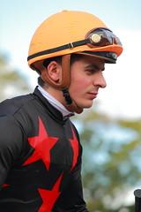 Andrea Atzeni - Kyoto Racecourse (Ogiyoshisan) Tags: sports animal sport japan japanese outdoor riding jockey  horseracing thoroughbred