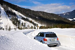 Mercedes-Benz 4Matic snezna avantura - 2014 02 - foto Miha Merljak - dogodek zasnoval Slovenski Avto Klub (miha.merljak) Tags: si slovenija bande sneg planica