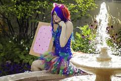 Nyan Cat by Kawaii Potato Cosplay (Happy Pause) Tags: photography rainbow cosplay potato kawaii cosplayer raver tutu poptart catgirl ravegirl cosplaygirl nyancat happypausephotography happypausephoto kawaiipotatocosplay