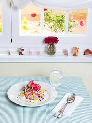 Ensalada de arroz con salmn marinado (Frabisa) Tags: tomato salad rice salmon vinegar onion chives tomate ensalada arroz cebolla marinated cebollino vinagreta marinado