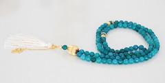 15-07-2015-0102 (vanilleecom) Tags: gold turquoise jade rosary etsy turkish islamic tasbih tasbeeh misbaha masbaha vanillee