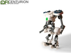 Centurion (Dead Frog inc.) Tags: fiction robot lego police science fi sci mech drone