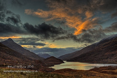 Leven Sunset (Shuggie!!) Tags: sunset mountains water clouds landscape scotland highlands williams hills karl hdr eveninglight lochleven zenfolio karlwilliams