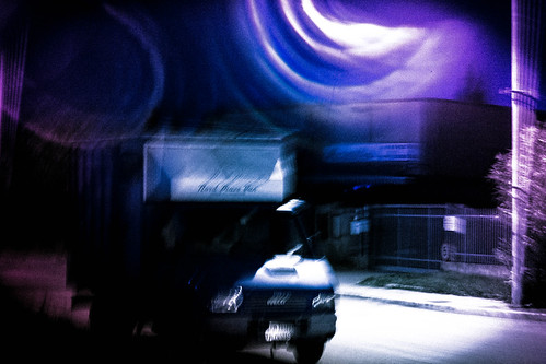 static truck in dynamic world
