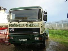 M541 TDB (quicksilver coaches) Tags: northampton fairground erf funfair botton ec sixfields showmans ec14 m541tdb
