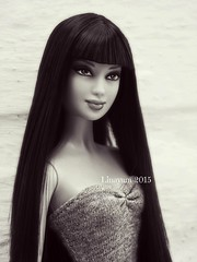 Your soul through my eyes (Linayum) Tags: doll barbie bn collection lea collector kou muñeca colección linayum barbiebasiccollection5