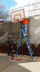 2015-12-03-Home Depot-Knickerbocker-fixing hoop-a (Services for the UnderServed) Tags: walter home painting back team great kerry giving depot fixing hayes volunteer job sus veterans generous knickerbocker susincnyc balduccini