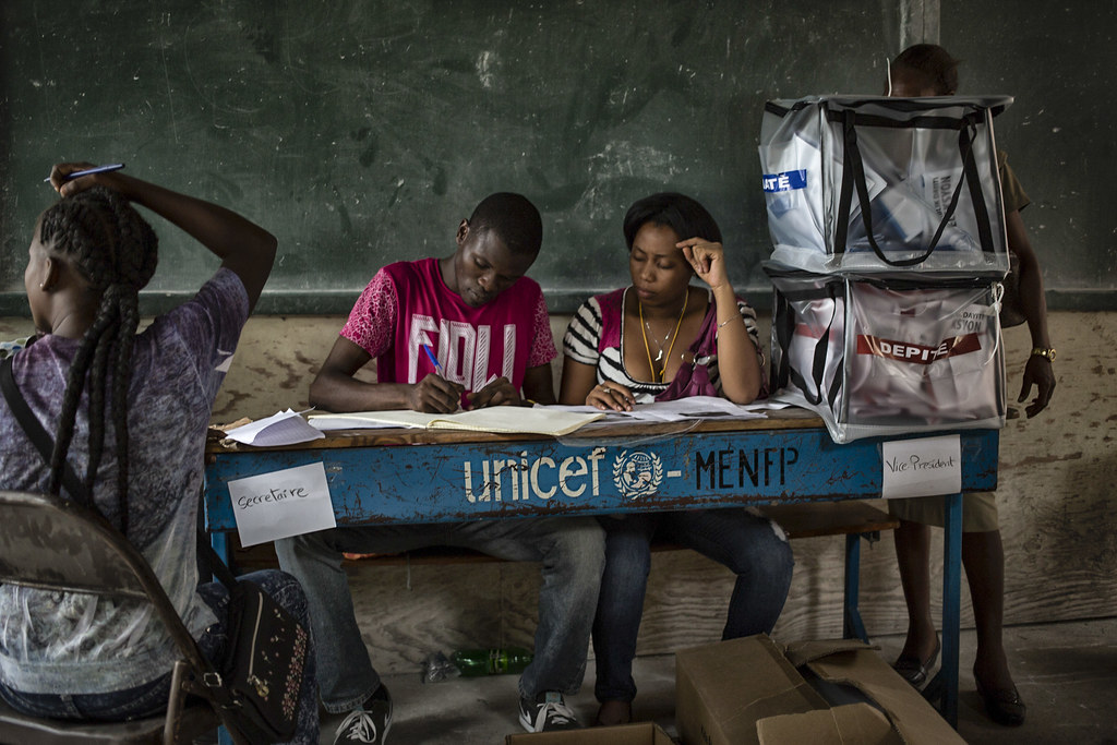 MINUSTAH Assists Haiti During Senatorial by United Nations Photo, on Flickr