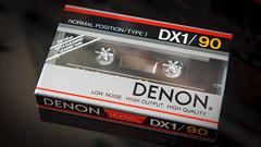 Denon DX1/90 (Andrey) Tags: audio cassette tape ovp sealed oldschool denon tdk basf stereo vintage rare non stop music