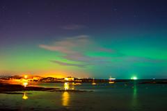 Aurora Glow  [Explore] (Eskling) Tags: ireland nikon aurora northern northernlights borealis groomsport codown northdown