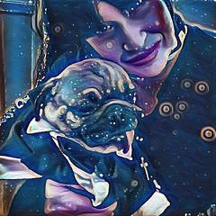 """My BAE at da 2017 New Year 🎊parties! We got da holiday spirit and are starting da celebration 🎉 early!"" Pugsley Luigi #happynewyear #happy2017 #pug #pugmania #pugs #newyearseve #mom #celebration #party #dog #dogs #bae (TheZenOfPugsleyLuigi) Tags: dogs happynewyear happy2017 pug pugmania pugs newyearseve celebration party dog"