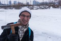 Chicago Snow KAP (Wind Watcher) Tags: kap windwatcher kite bkt dopero chicago snow