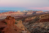 Waterpocket Fold at Blue Hour (au_ears) Tags: pectolspyramid fernsnipple utah capitolreef 2016 bluehour waterpocketfold sunsetpt