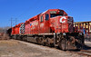 """CP Locomotives in Kansas City, MO (""""Righteous"""" Grant G.) Tags: cp canadian pacific railroad railway locomotive train trains emd power kansas city missouri engine"""