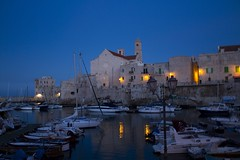 Giovinazzo port. (Giuseppe Chirico) Tags: nature photography sea port harbor ship ancient old city town waves blu light yellow house veil veils ships
