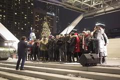 SoundCrowd Choir at City Hall (Stephen Gardiner) Tags: toronto ontario 2016 nathanphillipssquare newcityhall soundcrowd choir carols pentax k3ii 1645