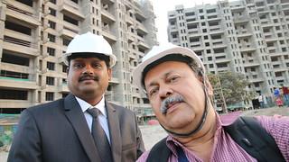 Site Walk 2 at Pethkar Projects' Siyona at Punawale PCMC Pune on 22nd January 2017