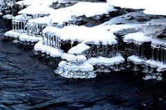 Sculptures de glace (sosivov) Tags: ice water winter river snow sweden
