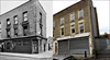Crogsland Road`1957-2016 (roll the dice) Tags: london nw3 camden chalkfarm lost demolished vanished closed sad mad old local history nostalgia retro comparison bygone streetfurniture architecture oldandnew pastandpresent hereandnow uk classic art urban england changes collection canon tourism kids school alley dirty corner lyonscakes victorian bollards windows grim gate winter