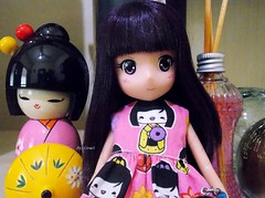 Essa Carinha de Anime é Irresistível xD (Graciani Crafts) Tags: dolls doll midori kokeshi kawaii fotos boneca bonecas animes mangás