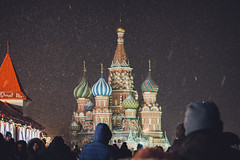 St. Basil snowing (Syuqor7) Tags: building monument stbasil light snowfall snow night nightlife nightlights moskva moscow moscowcity russia russiawinter winter nightphotography nightout nikon nikond7200 nikonphotography d7200 dslr malaysian aizzat7photography