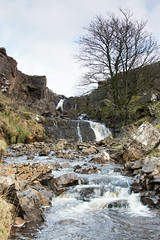 Borrowdale Beck waterfalls