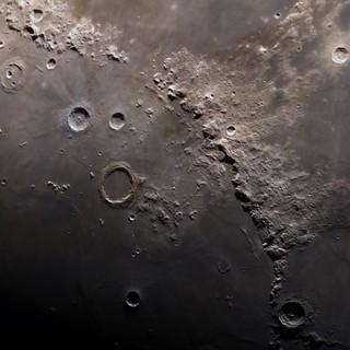 The Moon's Montes Apenninus