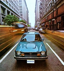 1973 honda civic brochure