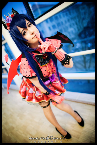 Cosplay Love Live Little Devil Umi