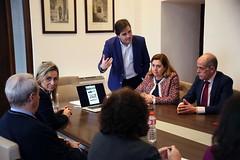 Presentando el nuevo proyecto web de Toledo Ciudad Patrimonio de la Humanidad (30 aniversario) al comité de gestión y a la corporación municipal de #Toledo.