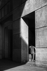 Winter light (Latif Hossain) Tags: winter light shade shadow still life architecture structure geometry building abstract art black white bw urban city habitat concrete plastic material dhaka