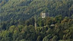 Die Burg im Wald (Norbert Kaiser) Tags: burg burgruine höhenburg ruinetosters bergfried wald feldkirch vorarlberg