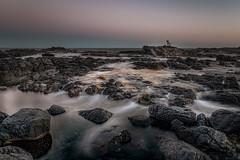 Best Seat in the House DSC_8805 (BlueberryAsh) Tags: capeschanck ocean beach sunset dark chair water longexposure nikond750 nikon24120 seascape australianseascape rocks rock pools