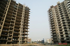 13th Floor Roof Slab Being Casted For Tower B, C & D (Sushma Grande) Tags: 13thfloorroofslabbeingcastedfortowerb campd