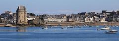Saint-Servan-sur-Mer (rogermarcel) Tags: saintmalo pano panorama waterscape ocean landscape rogermarcel bretagne panoramic