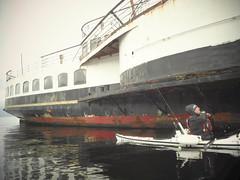 The maid of the loch (Nicolas Valentin) Tags: maidoftheloch scotland boat kayak kayakfishing ecosse red