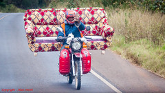Comfortable Touring Motorbike (Alan Smith Photography) Tags: motorbike htimsnala sofa bike motorcycle settee nyeri kenya ke