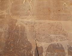 Chad Tibesti S Borkou (ursulazrich) Tags: tschad chad ciad tchad tibesti sahara afrika africa afrique tugui borkou rockart felsbilder petroglyphs gravuren cattle desert vieh petroglyphe