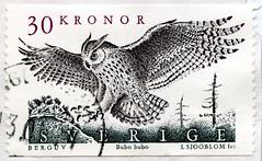 great stamp Sweden 30kr Eagle owl (Bubo Bubo, Uhu, Hibou grand-duc, búho, Stor hornugle, gufo reale, Velika uharica, civetta lechuza сова 枭 xiāo Eule Kauz) 邮票 瑞典 狮子 selos Suécia leão марки Швеция лев طوابعالسويد 郵便切手 切手 Scania frimärken Sverige postage (stampolina, thx for sending stamps! :)) Tags: stamp sweden sverige postage 邮票 瑞典 狮子 selos suécia leão марки швеция лев stamps timbre timbres postes porto franco bolli bollo francobolli postzegel postzegels zegels sello sellos briefmarke briefmarken bélyegek γραμματόσημα razítka طوابع 우표 frimerker pulları frimärken marka 切手 mail timbru schweden owl chouette grandduc eagleowl búho civetta lechuza сова 枭 xiāo eule kauz uhu bubobubo hibougrandduc storhornugle guforeale velikauharica buforeal