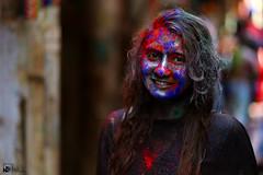 Holi festival 2017 (Jams Nabil) Tags: holi festival 2017 flickr explore createxplore colors girl smile face canon photography 6d 85mm dhaka bangladesh photo picture people outdoor
