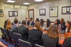 Senator Menendez Meets with Rutgers Students